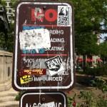 PulaskiPark-GoSkateboardingSign