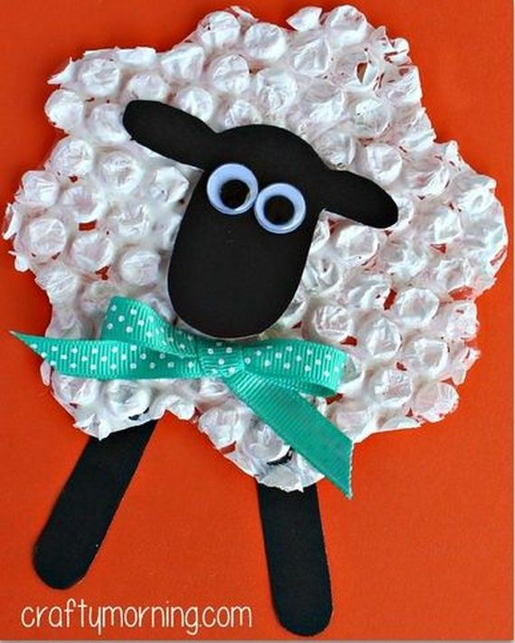 Amazing Lamb and Sheep Crafts Projects
