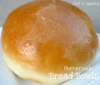 Homemade Bread Bowls - Chef in Training