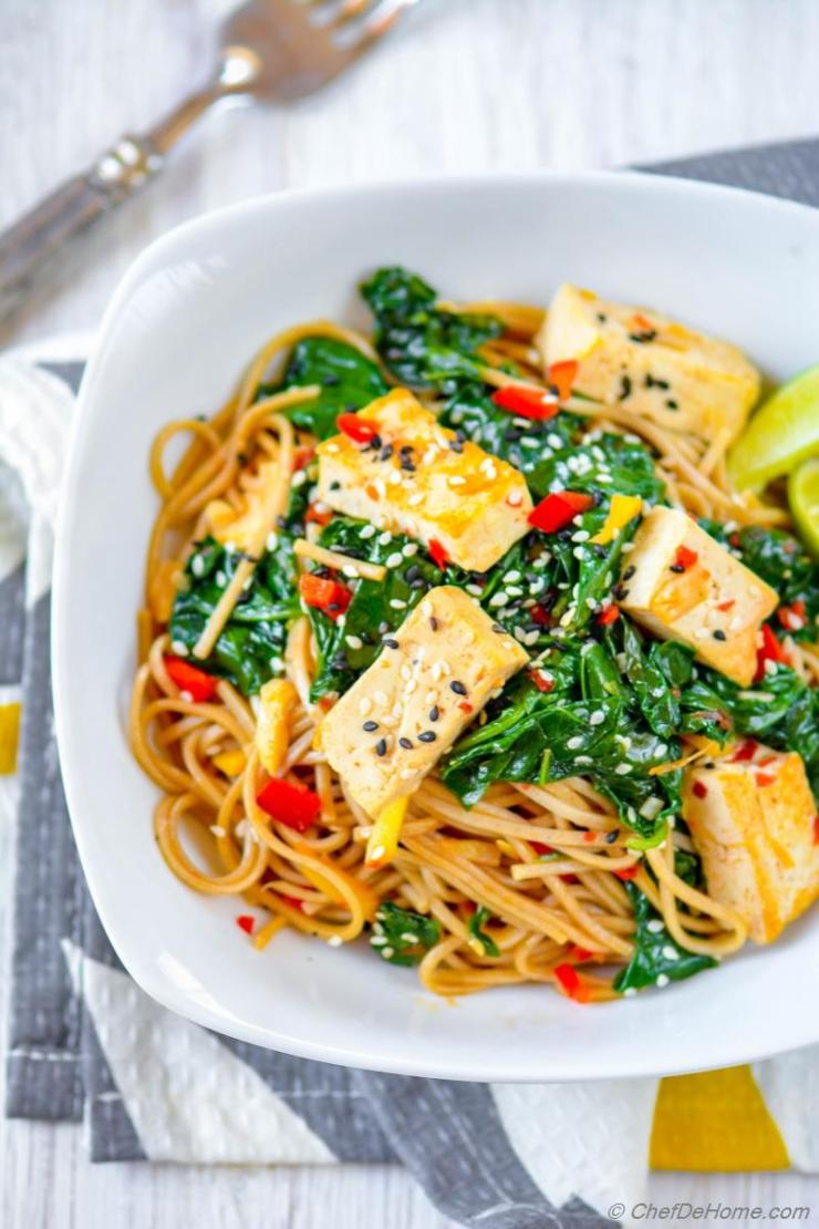 Buckwheat Soba Noodles Recipes Chefdehome