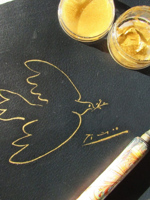 encre d'or