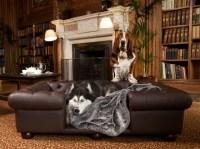 Real Leather Dog Sofas | Luxury Dog Beds