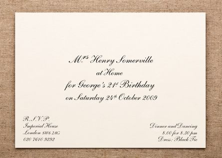 4\ - Formal Invitation