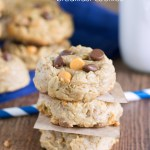 {Gluten Free} Peanut Butter Breakfast Cookies