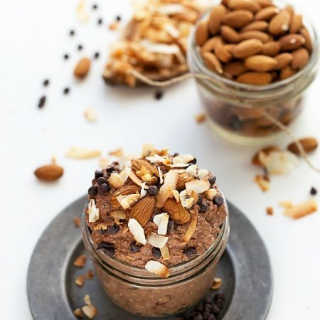 Almond Joy Overnight Oatmeal