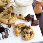 Easiest, no mixer chocolate chip cookies