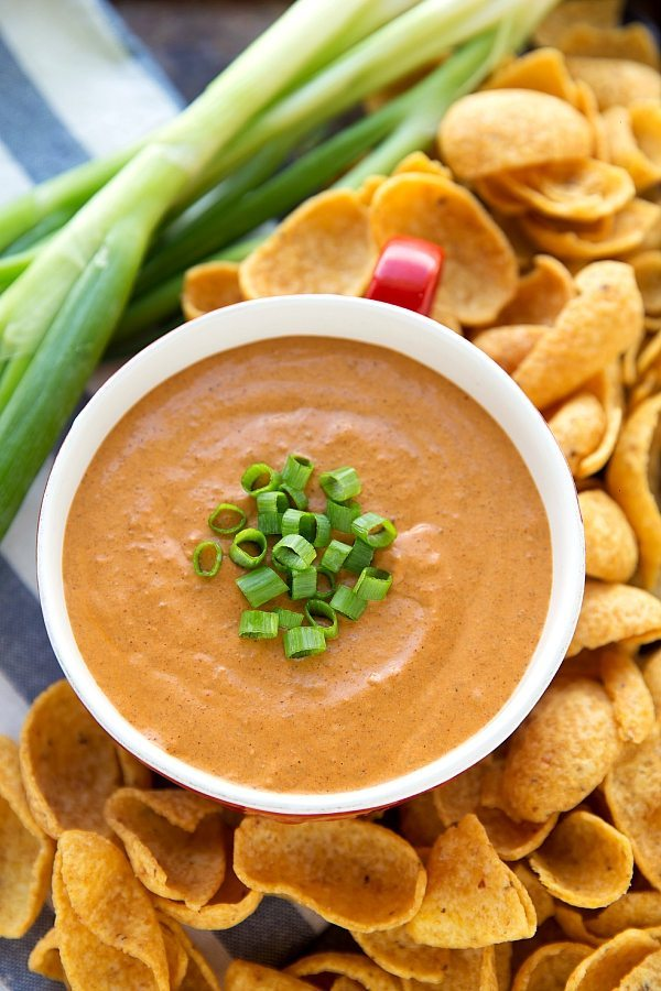 Creamy Chili Dip - made in the Slow Cooker!