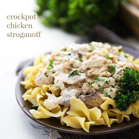 Crockpot Chicken Stroganoff (NO cream of soups)