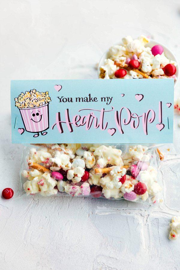Easy Valentine\u0027s Gifts Part 2 {Free Printables} Chelsea\u0027s Messy Apron