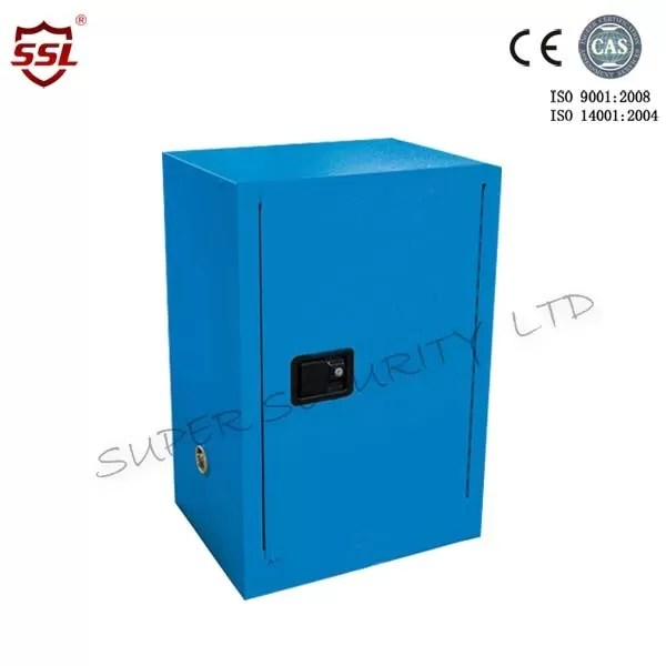 Stainless Steel Blue Chemical Safety Cabinets For