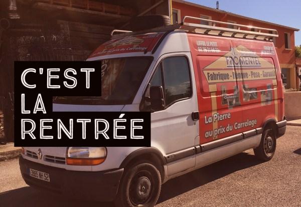 Rentrée 2016 - Les camionnettes rouges et blanches de Fromentel de retour sur les routes !