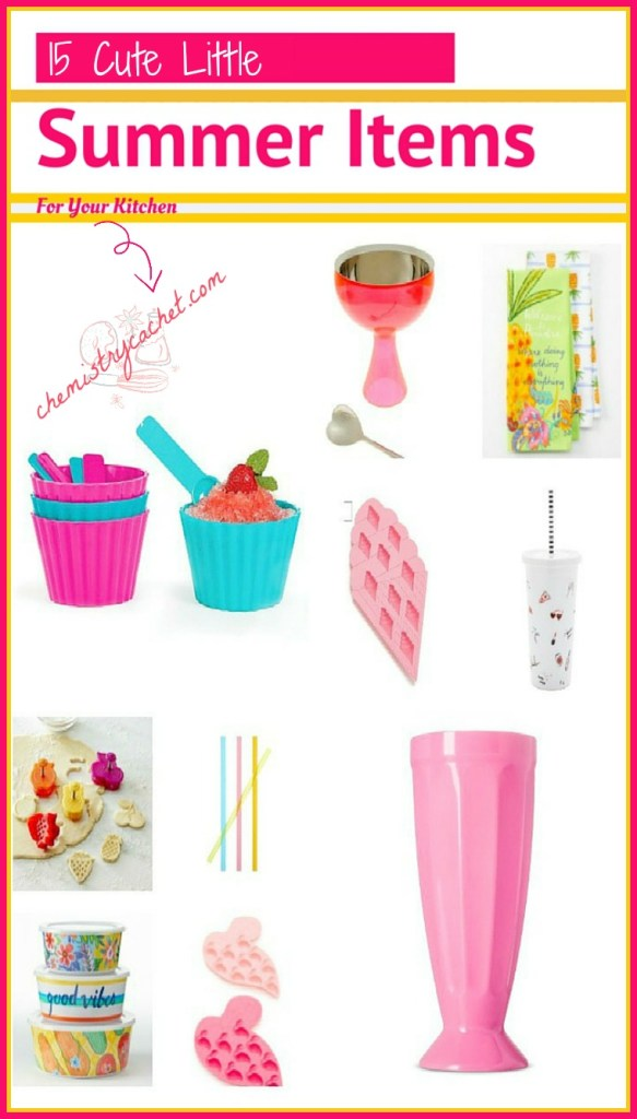 15 Cute Little Summer Items For Your Kitchen on chemistrycachet.com