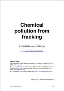 Fracking report image