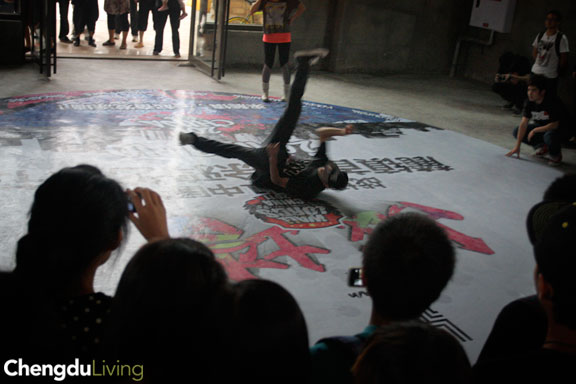 Wall Lords Chengdu b-boy