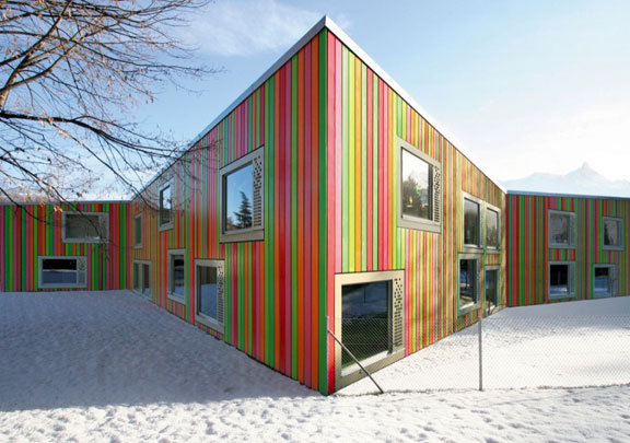Colorful Kindergarten