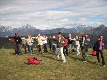 Taiji in montagna con trekking-italia milano