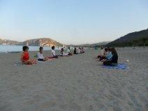 meditazione seduta a Palinuro 2011