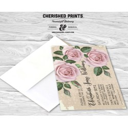 Small Crop Of Celebration Of Life Invitations
