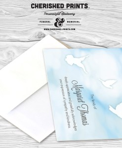 Heavenly Clouds Thank You Cards