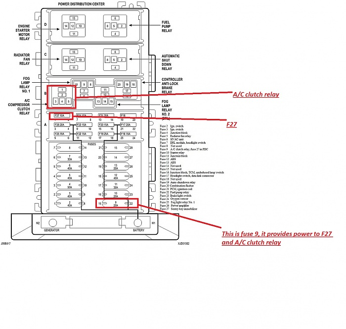 wiring diagram for 1997 f 150 a c