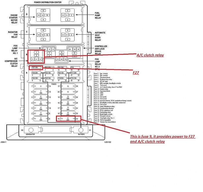 2007 fx4 fuse diagram 5 4 f150
