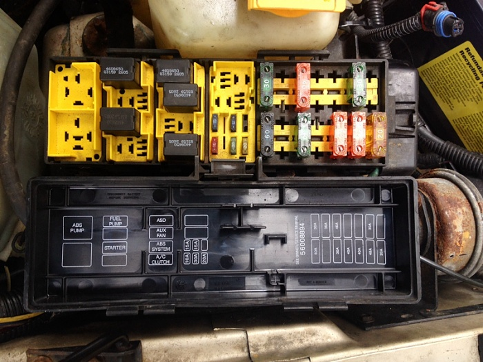 Relay/fuses for fog lights? - Jeep Cherokee Forum