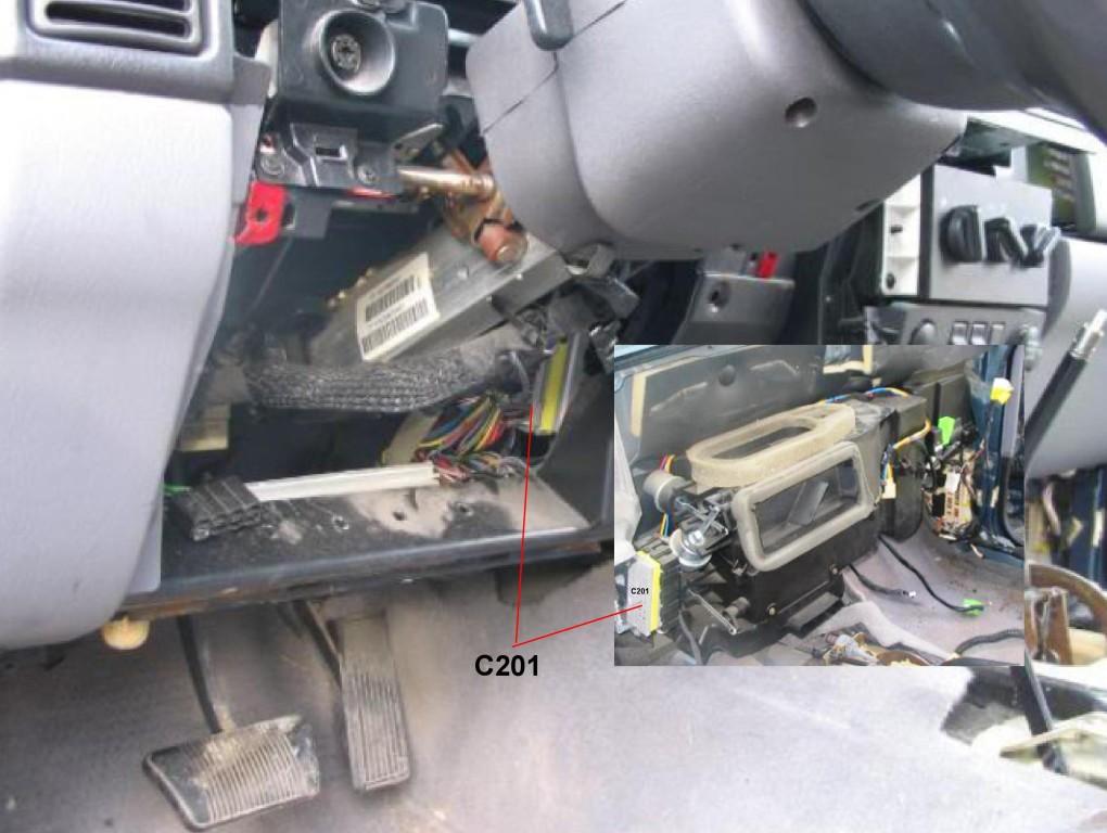 3998 Cherokee Sport Won39t Start After Replacing Heater Core