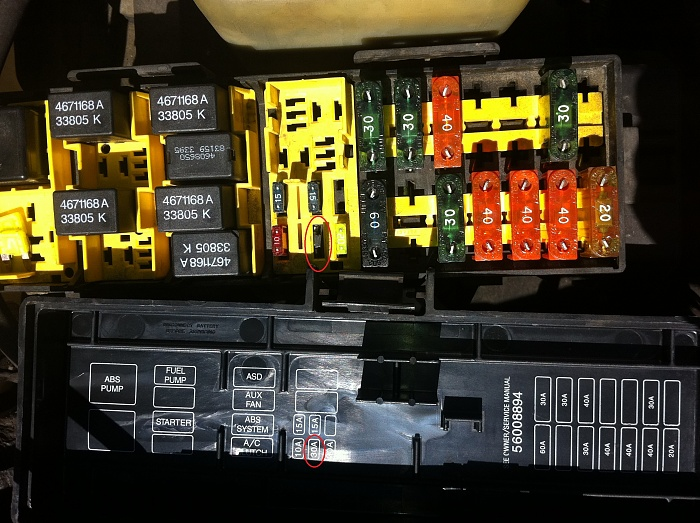 Jeep Fuse Box - Wiring Diagram Progresif