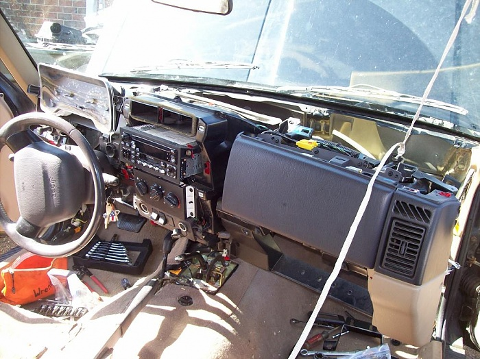 2000 Jeep Grand Cherokee Heater Core Replacement