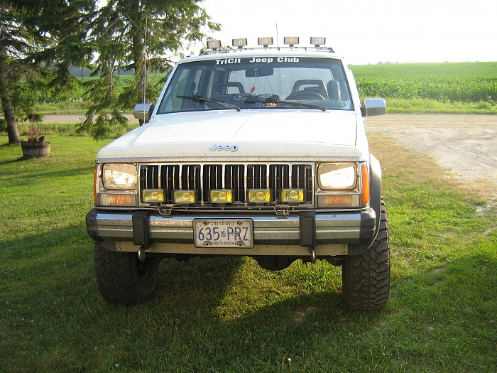 Driving/Fog Lights on 94 Limited ZJ - Jeep Cherokee Forum