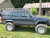 Homemade Roof Rack - Pirate XJ - Jeep Cherokee Forum