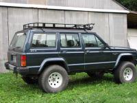 Homemade Roof Rack - Pirate XJ - Page 3 - Jeep Cherokee Forum