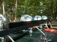 Homemade Roof Rack With 4 KC Lights - Page 4 - Jeep ...