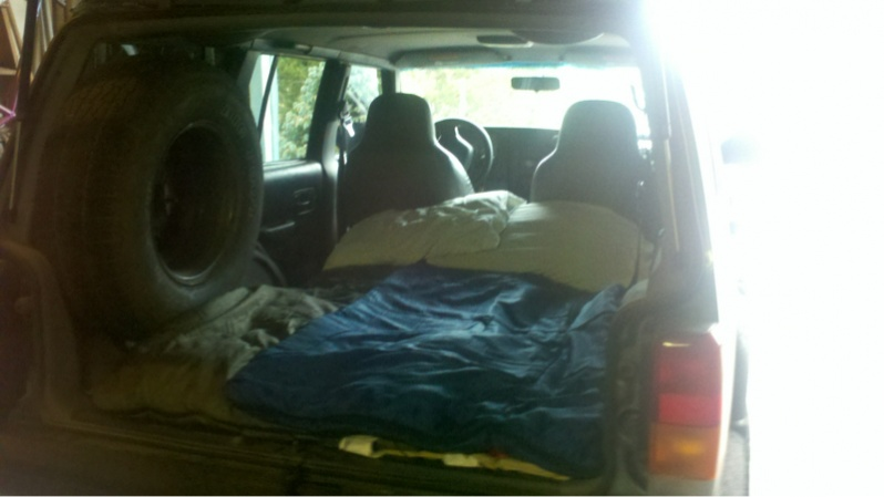 Sleeping In The Back Of A Jeep Jeep Cherokee Forum