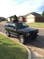 My cherokee XJ custom roof rack battle. - Jeep Cherokee Forum