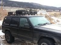Roof rack mounts - Jeep Cherokee Forum
