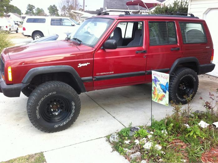jeep xj 5 inch lift 31s