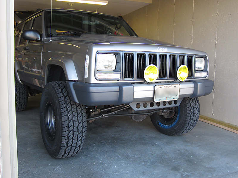 Hooking an LED light bar up to the factory fog light wiring - Jeep
