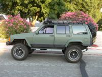 roof rack or rear bumper for spare tire?? - Jeep Cherokee ...