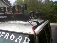Wiring roof lights ? - Jeep Cherokee Forum