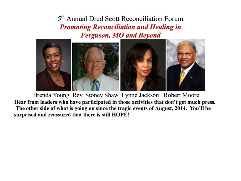 Dred Scott Reconciliation Forum