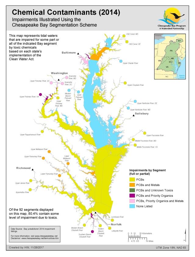 Maps Chesapeake Bay Program