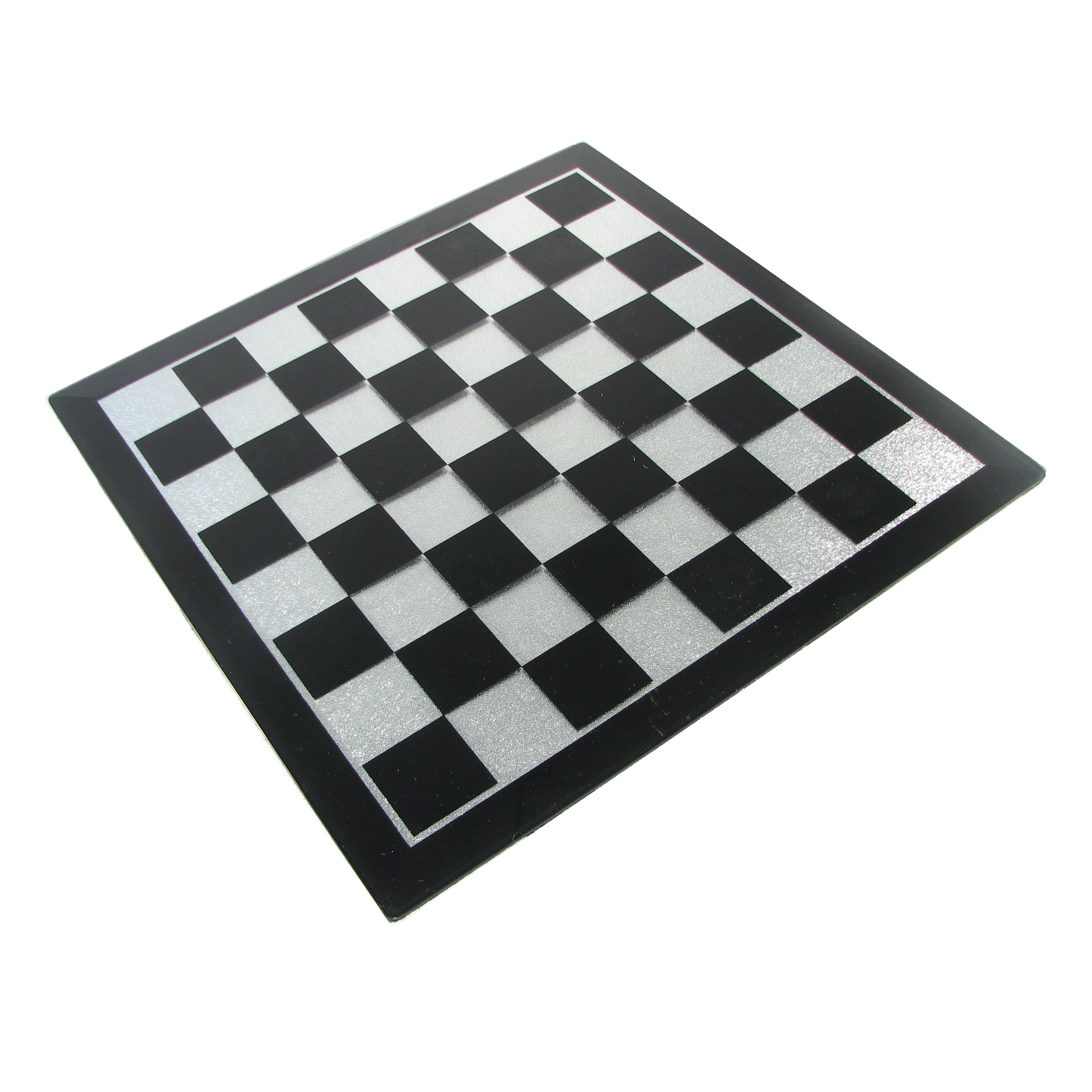 Black And White Marble Wallpaper 16 Quot Black And Silver Glass Chess Board
