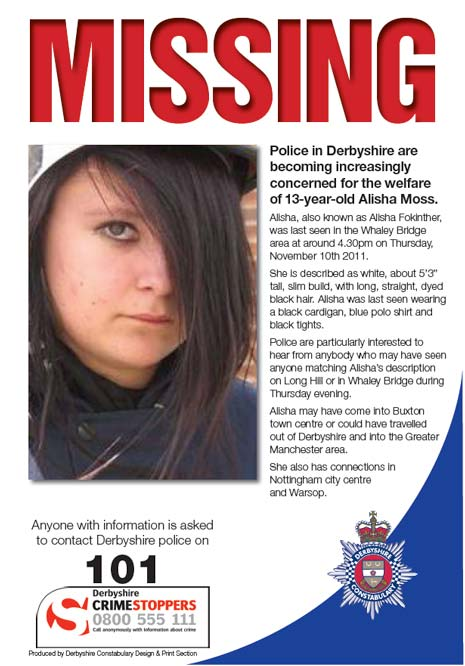 police missing person template - Missing Persons Posters
