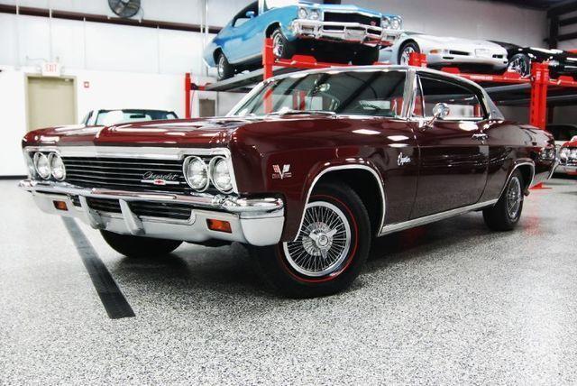 Impala Engine Options 1966