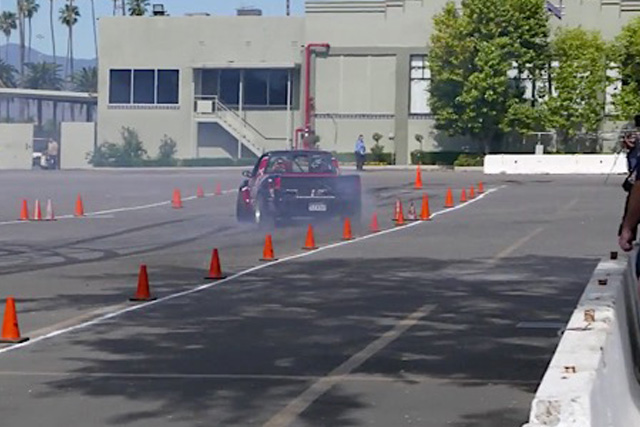Video A Drifting Chevy LS Powered S10 Tears Up An Autocross Track