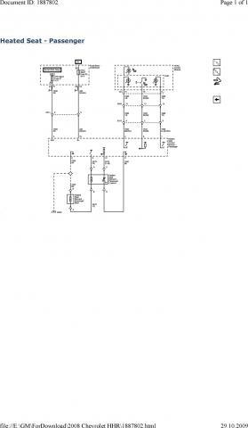 Heated Seat Switch Light Flashing - Chevy HHR Network