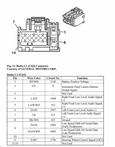 2007 chevy hhr radio wiring diagram