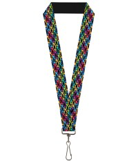 Chevrolet Colored Bowties Lanyard