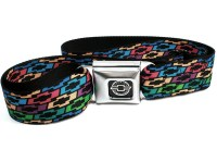 Chevrolet Colored Bowties Seatbelt Belt (size XL only ...